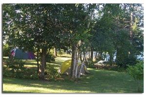 Tent Sites & 2 Lean-Tos